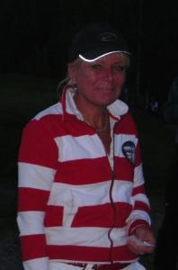 Inger Sandset ble nummer 3 i kveldens turnering