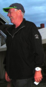 Asbjørn Solevåg  som brillierte på hull 6,