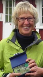 Nummer 1 (som i så mange andre turneringer i år) ble Kirsten Rogne, som plantet flagget på hull 17.
