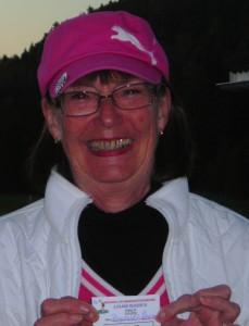 Ragnhild Lied Johansen avslutet mandagscupsesongen som hun starte den, med en andreplass.