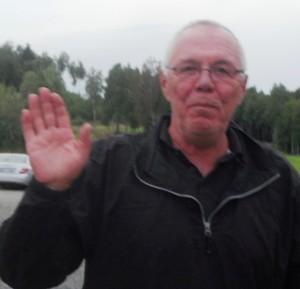 Asbjørn Solevåg var ein verdig vinnar av den eine av dei to birdiepremiane. Det var hol 18 som blei beseira.