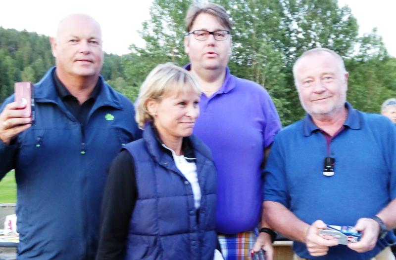 Lag 2: f.v. Lars Sandberg, Lise Brekka, Anders Hoel (Losby), Roald Eilertsen
