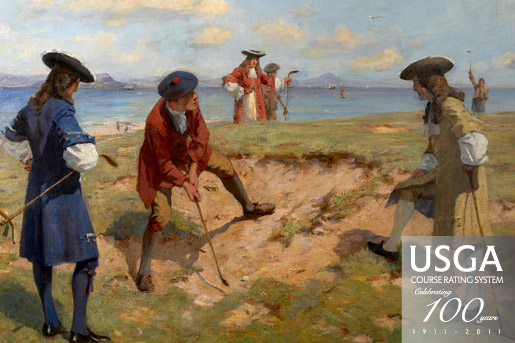 First International Foursome, England v. Scotland