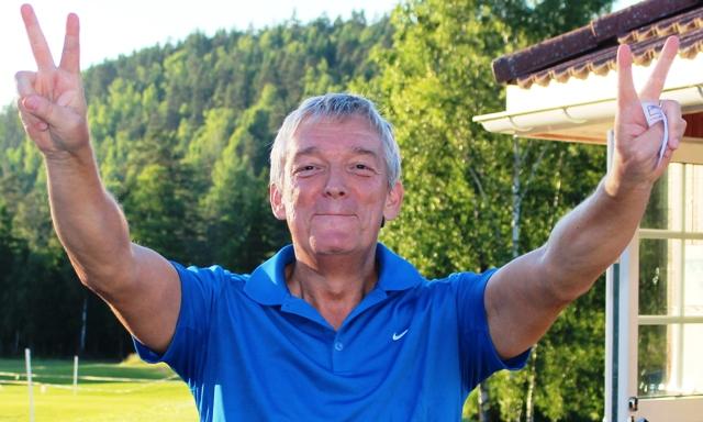 Dagens mann: Holger Kohagen, med to birdiepremier og førsteplass i klasse A.
