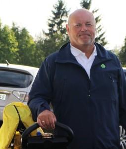 Lars var allerede på vei mot parkeringsplassen da det ble avgjort at det var han som fortjente andreplassen i A-klassen.