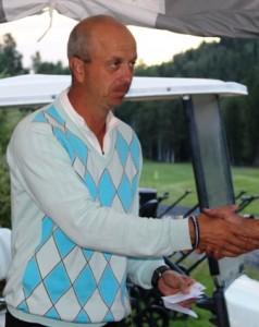 Per Frode Haugen er en seiersvant herre i Krokhol-sammenheng. Han vant OoM i fjor og er klubbmester av året.