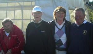 Vinnerlaget besto av (fra venstre) Sturla Sandlie, Eivor Arntsen, Gerd Brustad og Jan Sørhus.