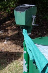 Ballvaskerne har fått vann, såpe og nye håndklær.